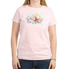 Women's Pink T-Shirt - Shells
