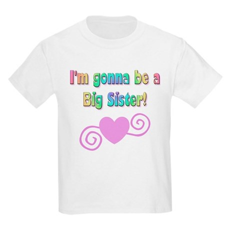 Gonna Be a Big Sister Kids Light T-Shirt