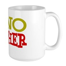 Sonographer GREEN RED BOLD Mug