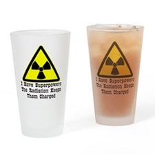 wht_Radiation_Superpowers Drinking Glass