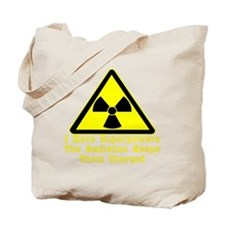 blk_Radiation_Superpowers Tote Bag
