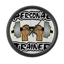 wht_Personal_Trainer_0033 Large Wall Clock