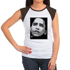 obama graphic square Tee