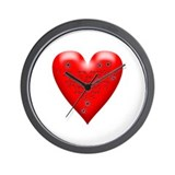 Cute Anti valentines Wall Clock