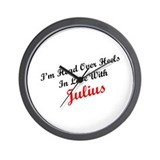 In Love with Julius Wall Clock