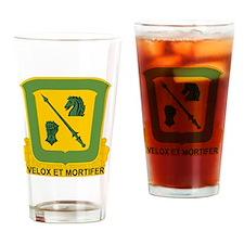 18th Cavalry Regiment Drinking Glass