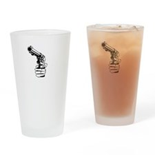 huckleberry2white Drinking Glass