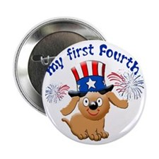 "firsst-fourth 2.25"" Button"