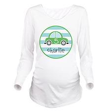 charlie car Long Sleeve Maternity T-Shirt