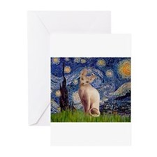 Starry Night / Sphynx Greeting Cards (Pk of 10)