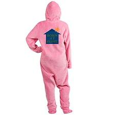 Born_Home_11 Footed Pajamas
