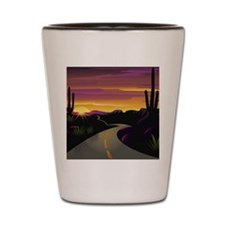 SWSunsetHwy_5.75x4.5 Shot Glass