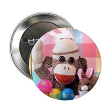 "Easter Basket 2.25"" Button"