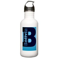 bolivia-journal-1 Water Bottle