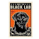 Obey the Black Lab! - Postcards