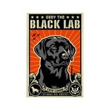 Black LAB Propaganda Magnets (10 pack)