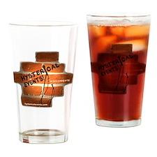 Tshirt logo Drinking Glass