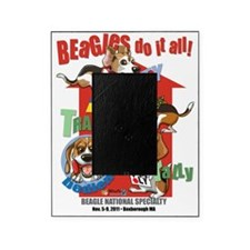 BeaglesNATIONALShirt Picture Frame