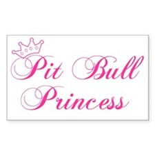 Pit Bull Princess Decal