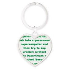 words7c Heart Keychain