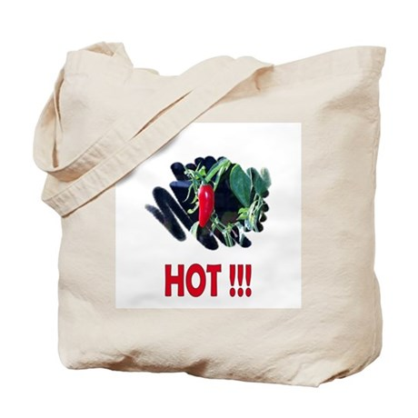 Red HOT Pepper Tote Bag
