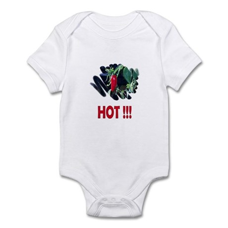Red HOT Pepper Infant Bodysuit