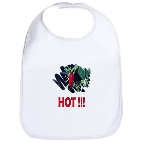 Red HOT Pepper Bib