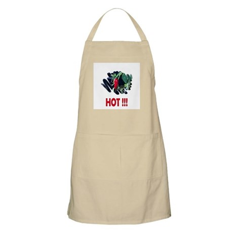 Red HOT Pepper BBQ Apron