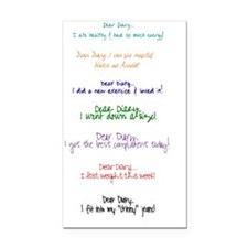 DearDiary Rectangle Car Magnet