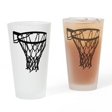 basketball_basket Drinking Glass