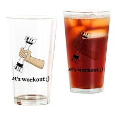 10x10_apparel 2bd Drinking Glass