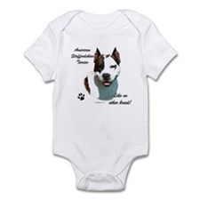 Am Staff Breed Infant Bodysuit