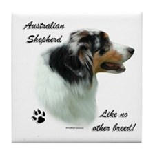 Aussie Breed Tile Coaster