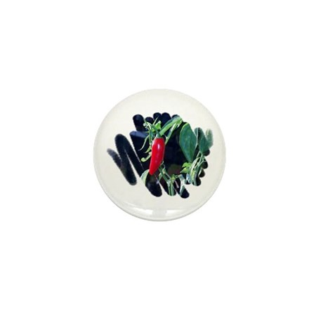 Red Pepper Mini Button