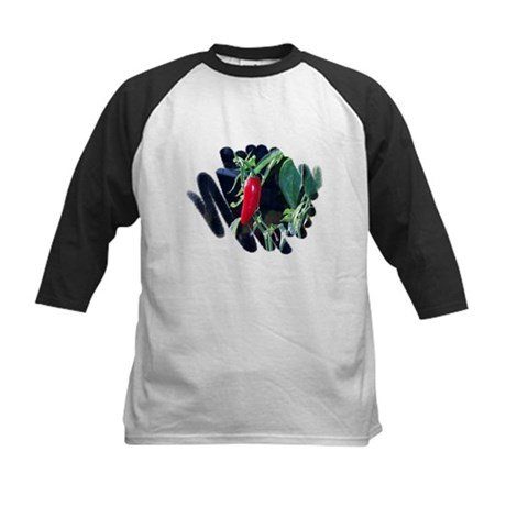Red Pepper Kids Baseball Jersey