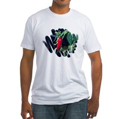 Red Pepper Fitted T-Shirt