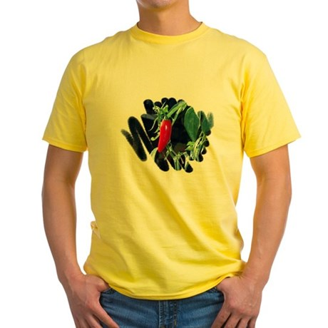 Red Pepper Yellow T-Shirt