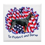 Dobie Protect Tile Coaster