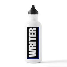 Writer Journal Sports Water Bottle