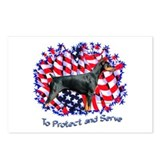Dobie Protect Postcards (Package of 8)