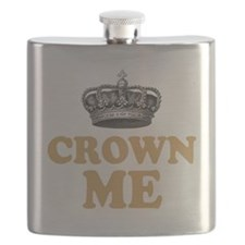 Crown Me 2 Flask