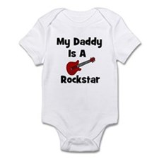 My Daddy Is A Rockstar Infant Bodysuit