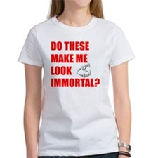 Fangs Blk Women's T-Shirt