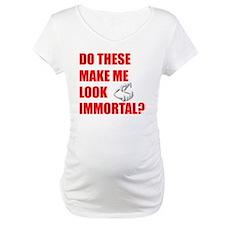 Fangs Blk Maternity T-Shirt