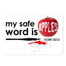 Apples Hat Postcards (Package of 8)