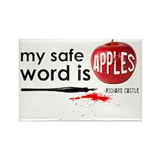 Apples Hat Rectangle Magnet