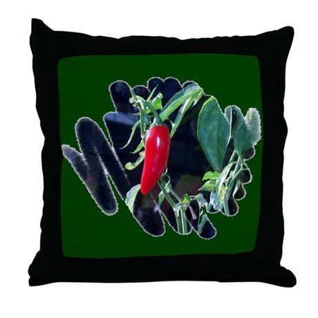 Red Hot Pepper Throw Pillow