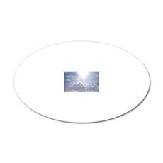 1 Corinthians 13-4 6 7  Clou 20x12 Oval Wall Decal