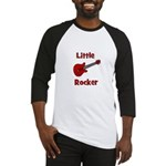 Little Rocker with Guitar Baseball Jersey