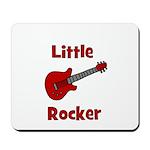 Little Rocker with Guitar Mousepad